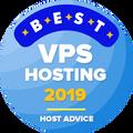 Нагороджуються компанії, які знаходяться у списку топ 10 в категорії кращий vps хостинг.