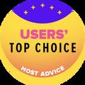 Нагороджуються компанії, які знаходяться у списку топ 10 хостингів з найвищим рейтингом від користувачів.