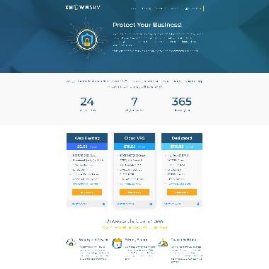 KnownSRV HomePage Screenshot
